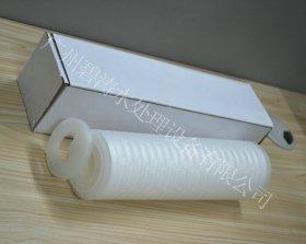 双开PP折叠滤芯白色垫圈